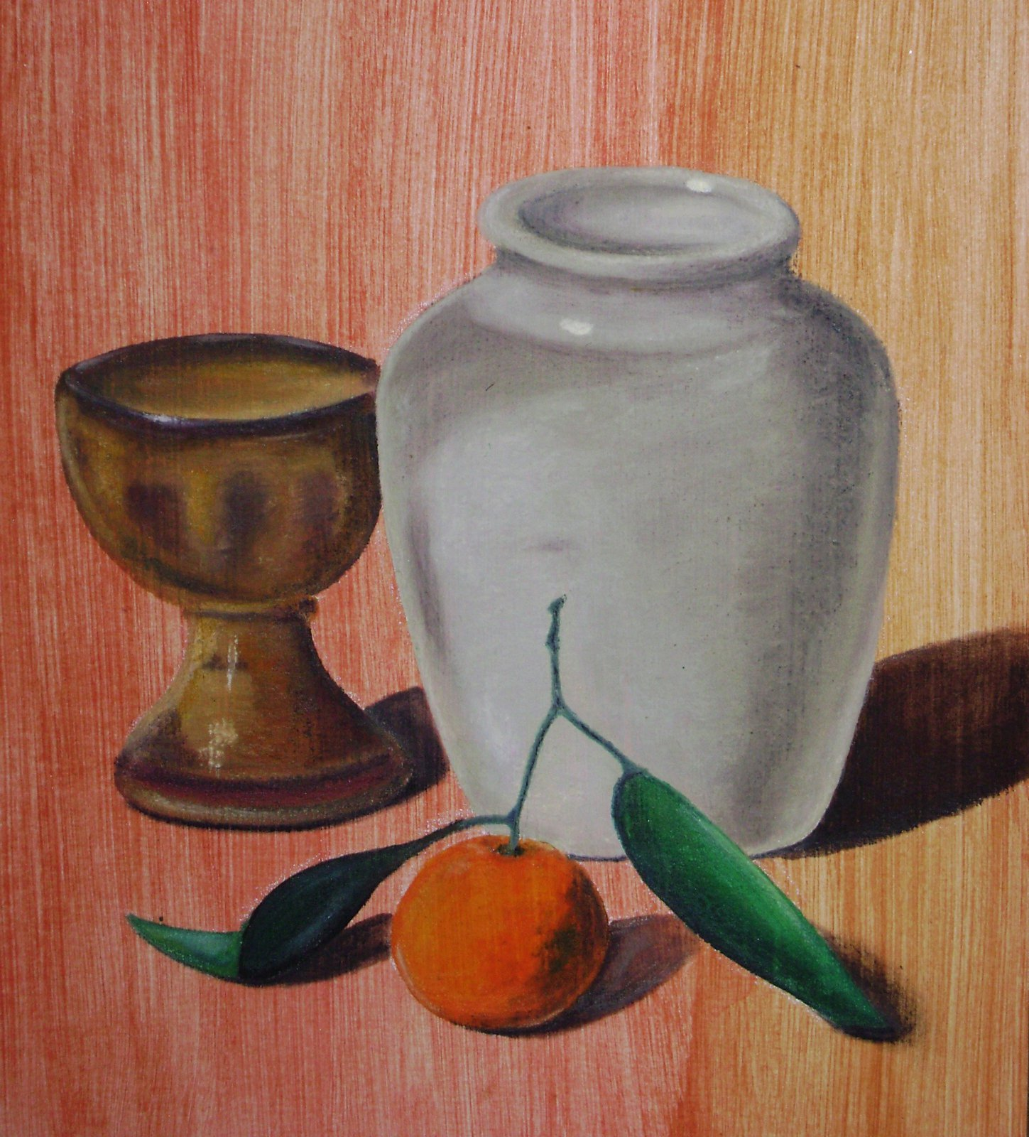 Oil Pastels Pumkinpatch
